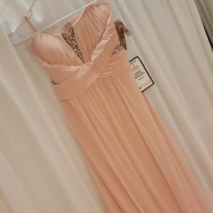 Pale Pink Prom Dreas